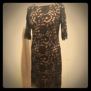 NWOT-Black lace dress- perfect for date night!